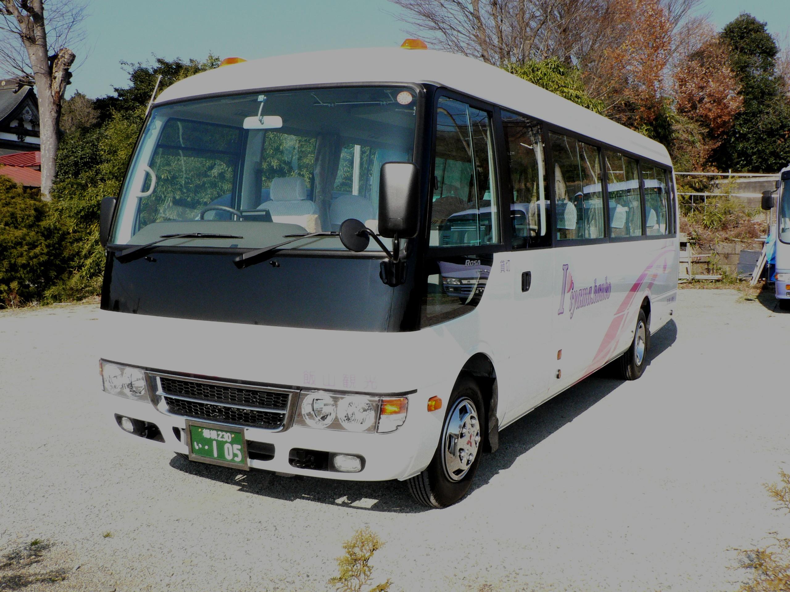 飯山 観光 - 105号車・表紙・中型バス